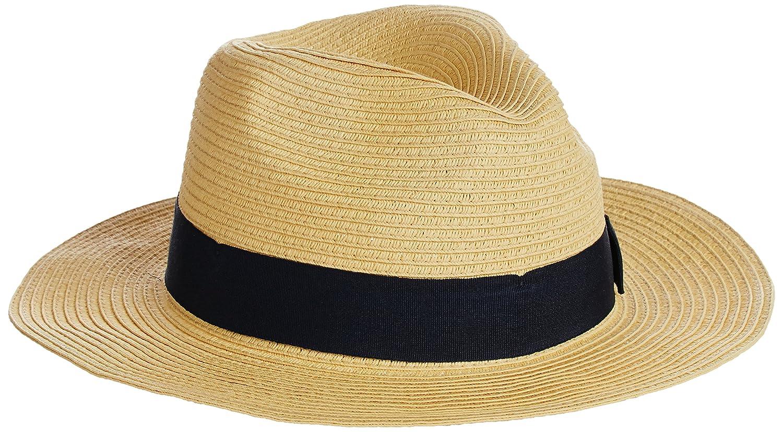 (レイビームス) Ray BEAMS / 中折れ ハット 61410205999 20 BEIGE*D.NAVYリボン ONE SIZE : 服&ファッション小物通販 | Amazon.co.jp