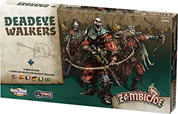 Asmodee - UBIZBP20 - Zombicide - Black Plague - Deadeye Walkers