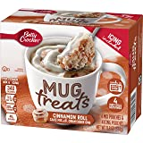 Betty Crocker Baking Mug Treats Cinnamon Roll Cake Mix with Cream Cheese Icing, 11.8 oz(us)