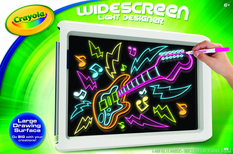 Crayola Widescreen Light Designer 74 7053 New Free Shipping Ebay
