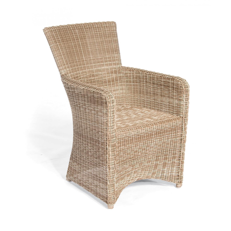 Sonnenpartner Gartenstuhl / Sessel Modell Venus Farbe antik-weiß 80061931 kaufen