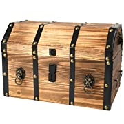 Wooden Pirate Trunk