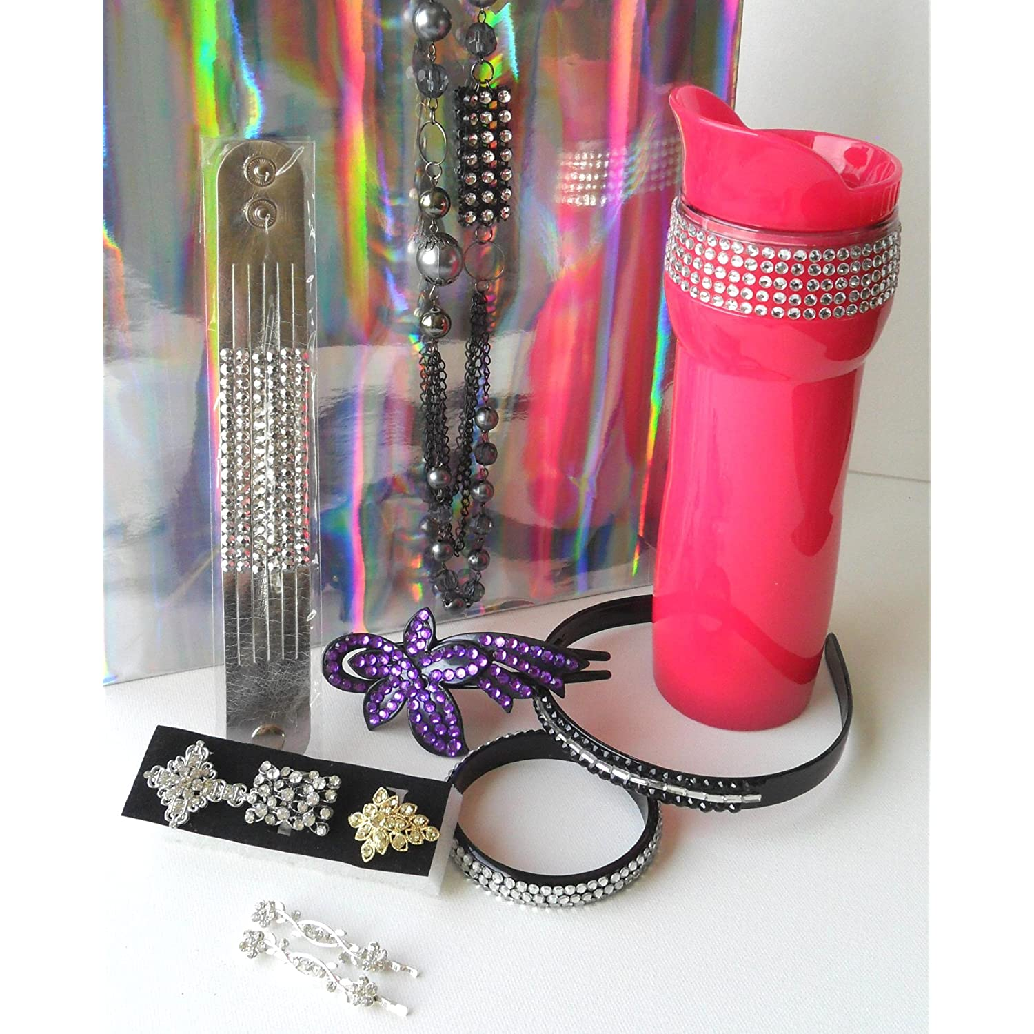 Rhinestone Bling Bling Gift Set with 11 Pieces