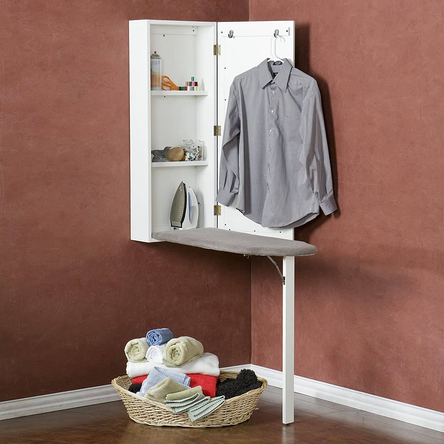 Wall Mount Ironing Center:
