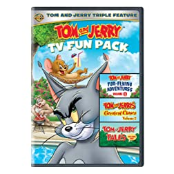 Tom and Jerry Fun Pack (3pk/RPKG/DVD)