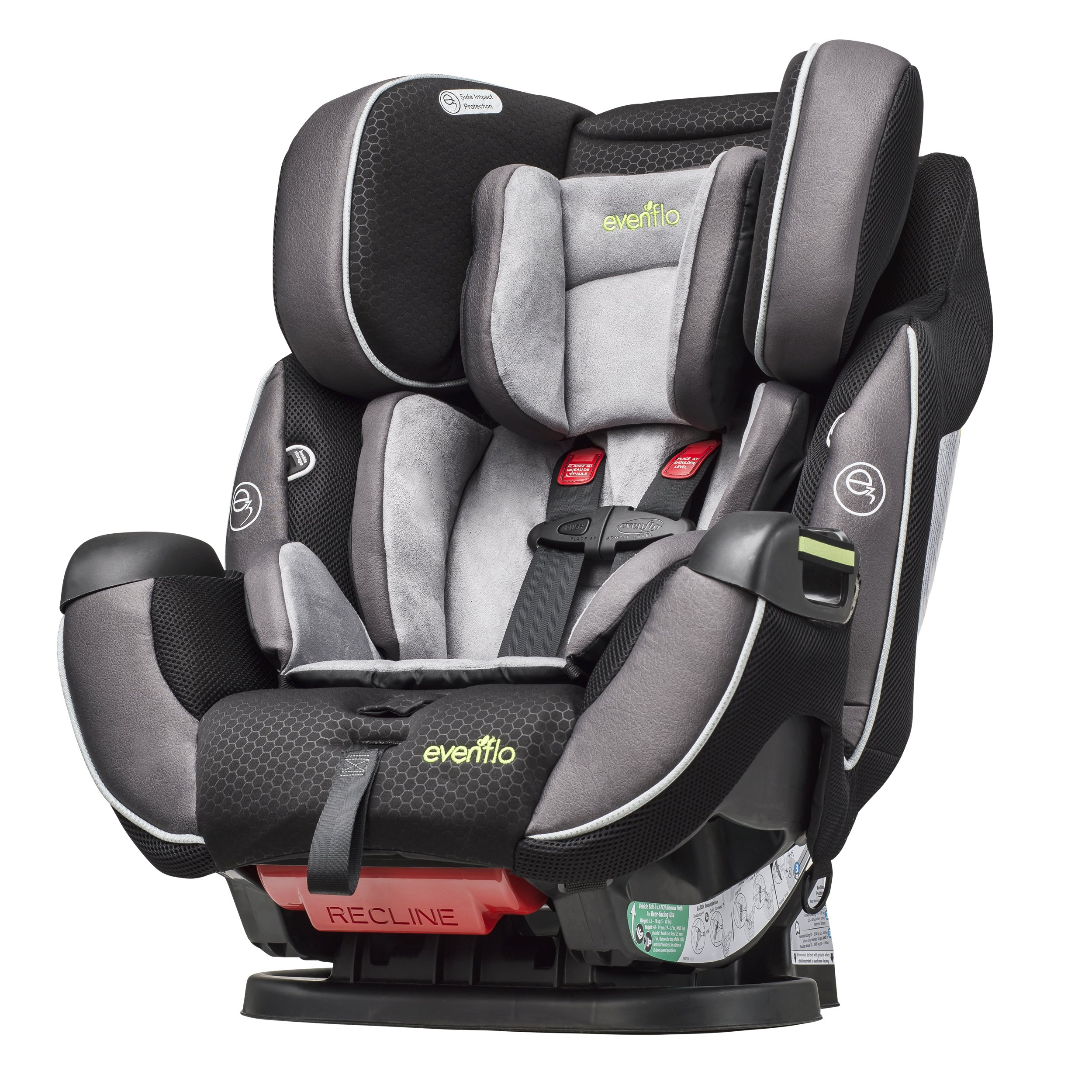 evenflo symphony dlx all in one convertible car seat paramount ebay. Black Bedroom Furniture Sets. Home Design Ideas