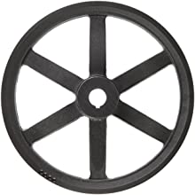 Martin P/B Plain Bore FHP Sheave, 4L/5L or B Belt Section, 1 Groove, Class 30 Gray Cast Iron
