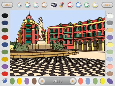 Intricate Coloring 1: Places [Download]