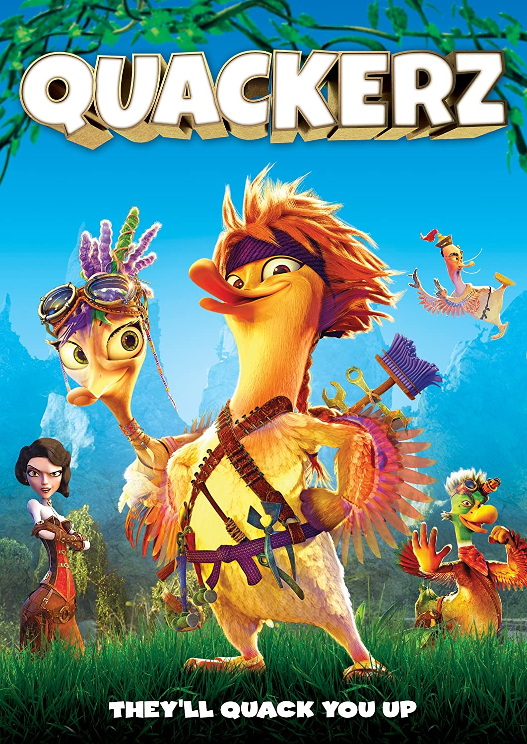 Quackerz 2016 BRRip XviD AC3-EVO