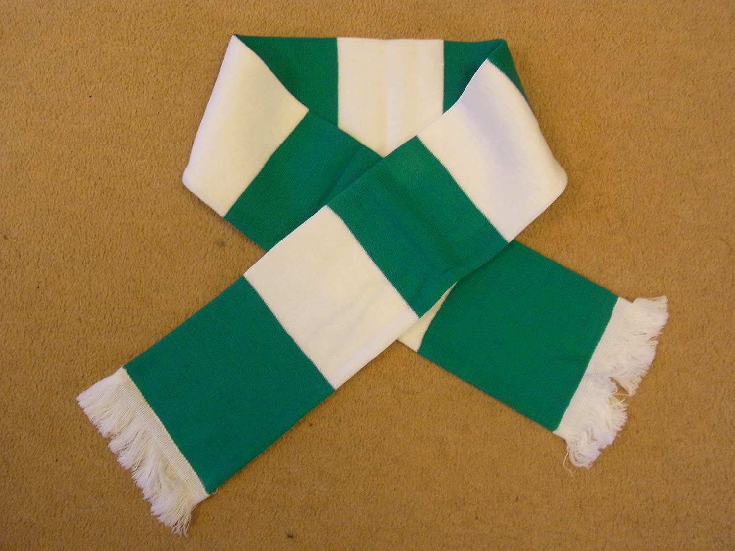 Elche CF of Spain Football Green and White Retro Bar Scarf page flags green 50 flags dispenser 2 dispensers pack page 4