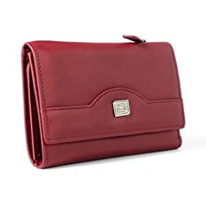Ladies Compact Trifold Wallet