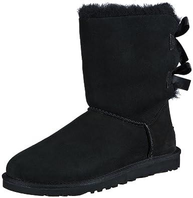UGG雪地靴蝴蝶结皮毛一体中筒女靴 8.62 - 第1张  | 淘她喜欢