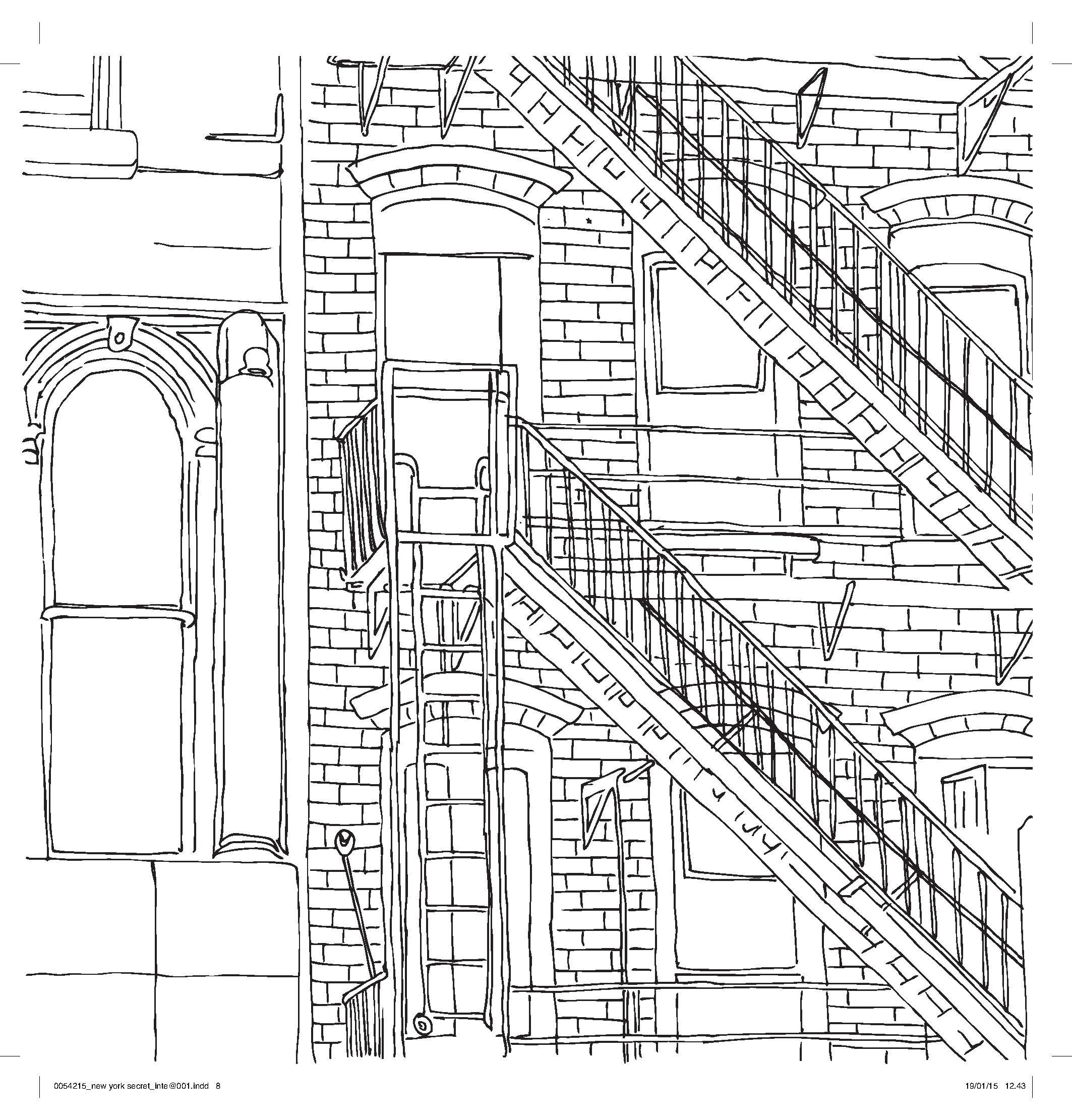 free new york coloring pages - photo#26