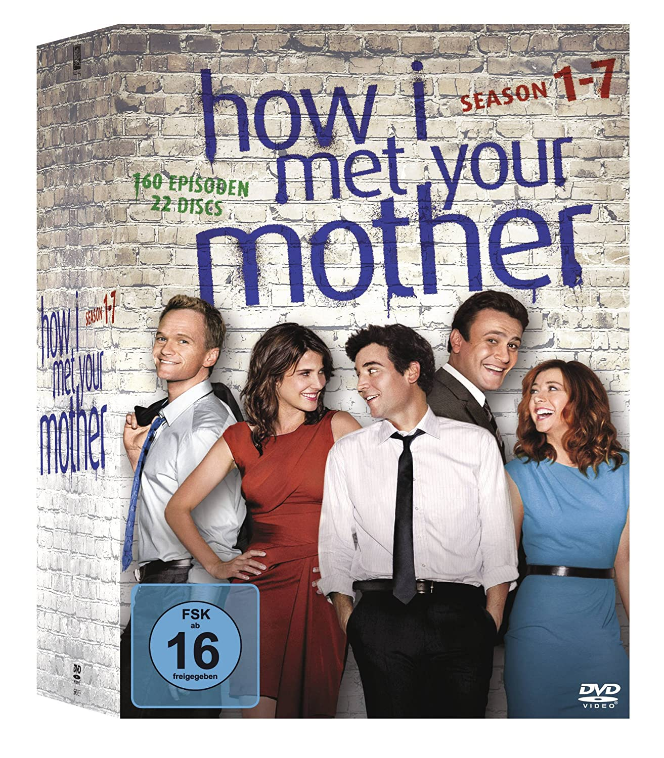 How I Met Your Mother Komplettbox, Seasons 1-7