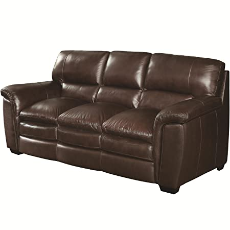39 in. High Sofa in Brown