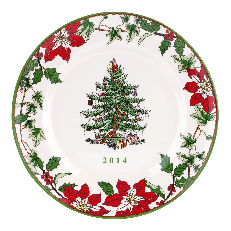 Poinsettia Dinner Plates | Christmas Wikii