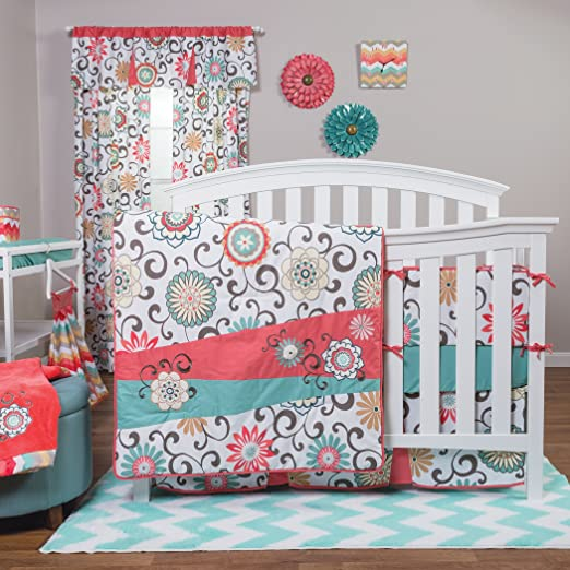 Trend Lab Waverly Pom Pom Play Baby Bedding