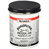 Rectorseal 14020 8-Ounce Nokorode Regular Paste Flux Tool (Tamaño: 8 Oz)