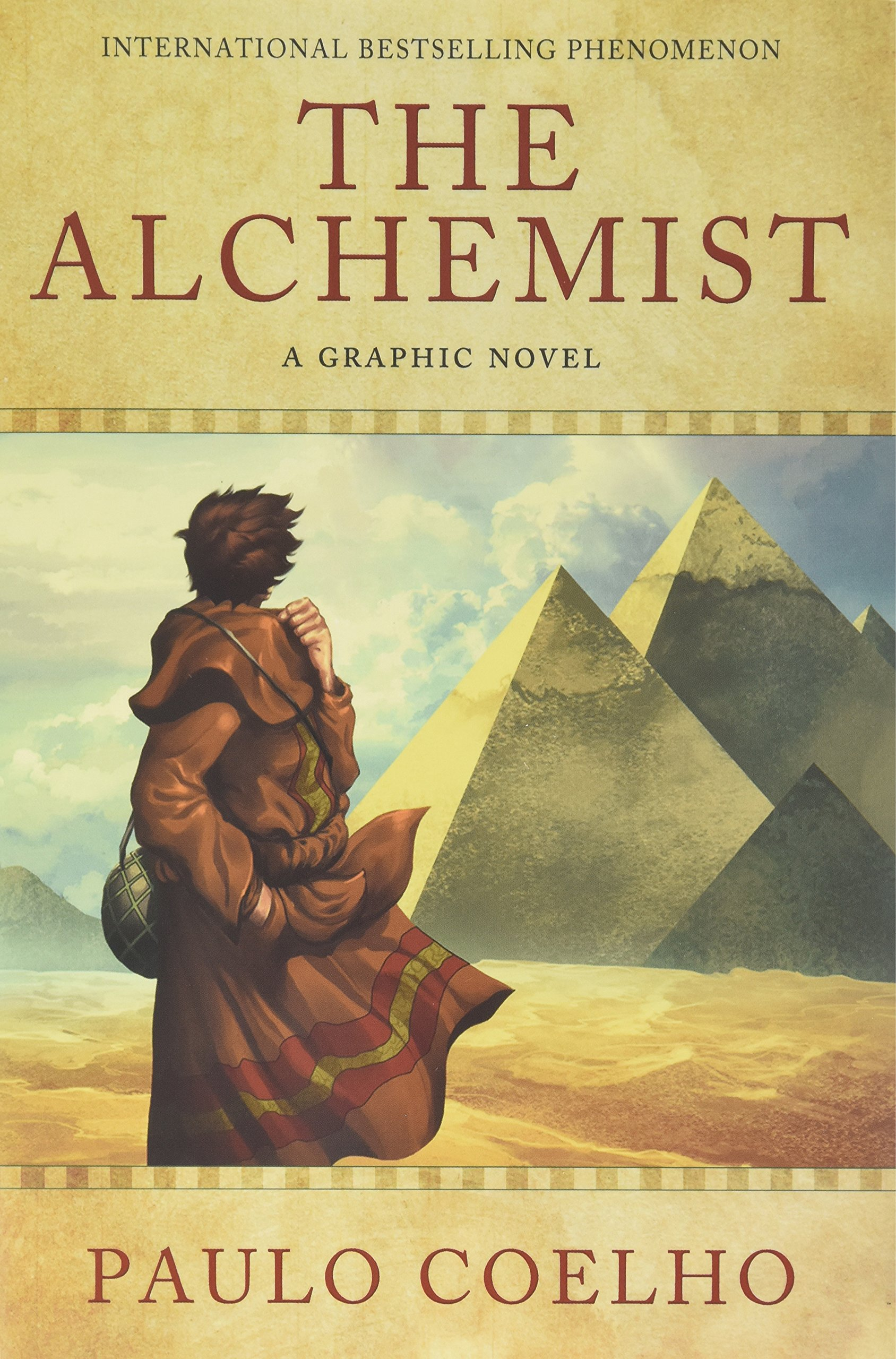 the alchemist a graphic novel in paulo coelho books