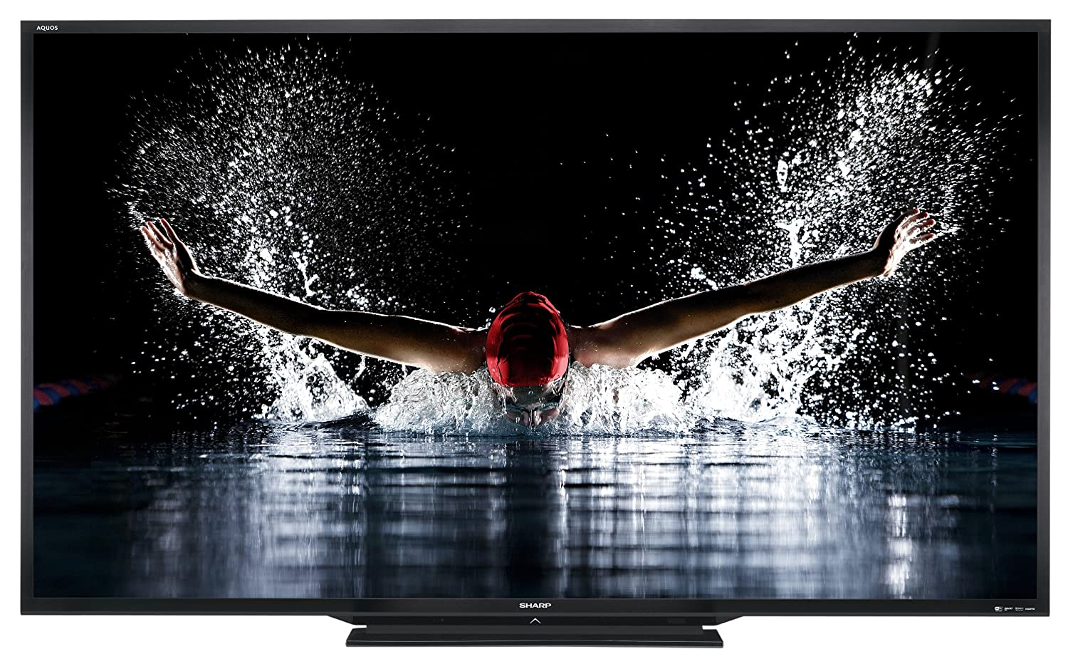 Sharp LC-90LE745 90-inch 1080p 120Hz LED 3D HDTV (Old Model)