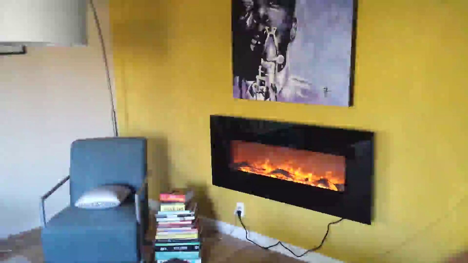 Customer Reviews Touchstone Onyx 50 Electric Wall Mounted Fireplace