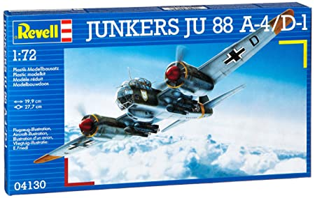 Revell - Maquette - Junkers Ju 88 A-4/D-1  - Echelle 1:72