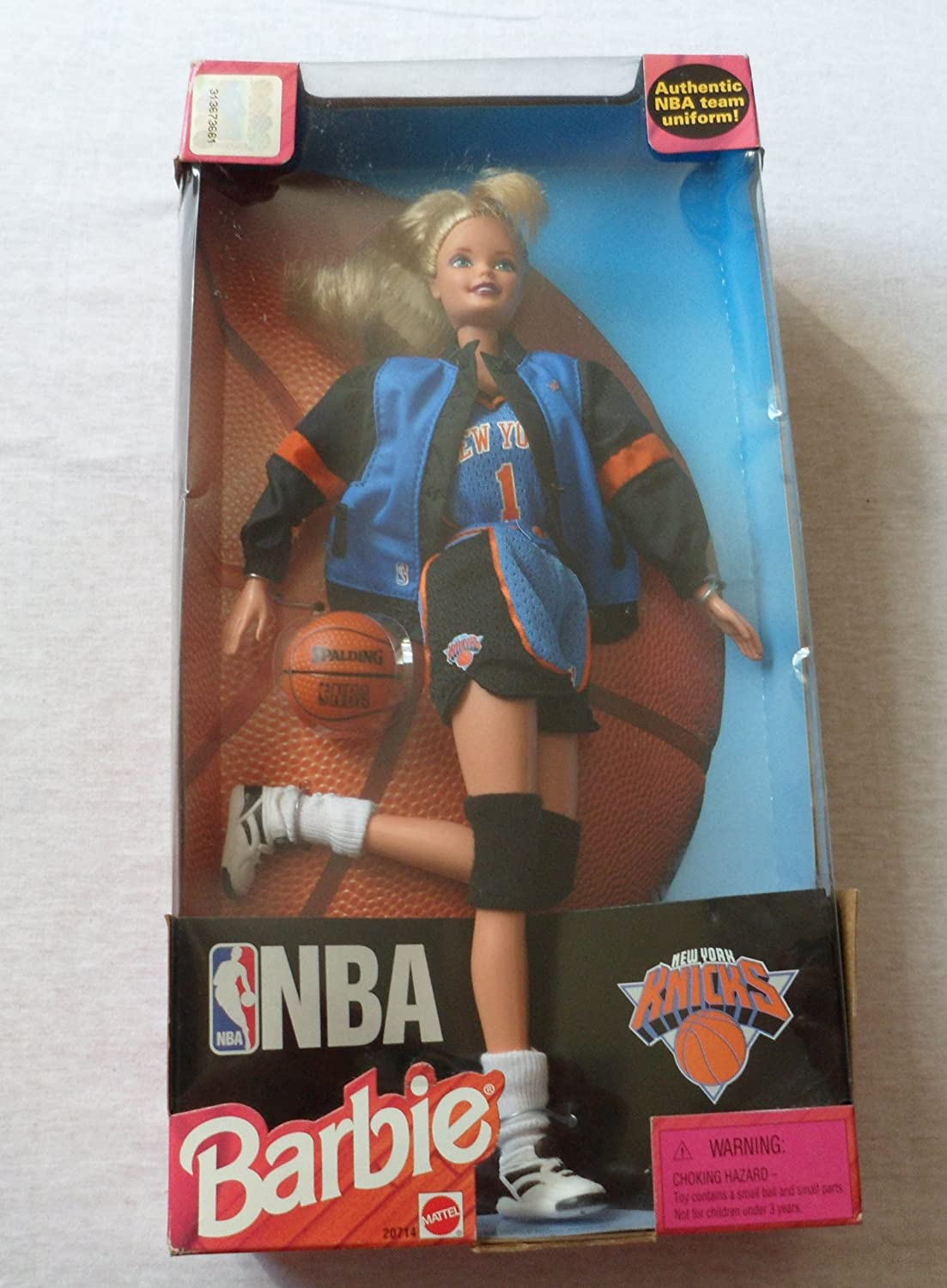 Barbie Doll NBA New York Knicks