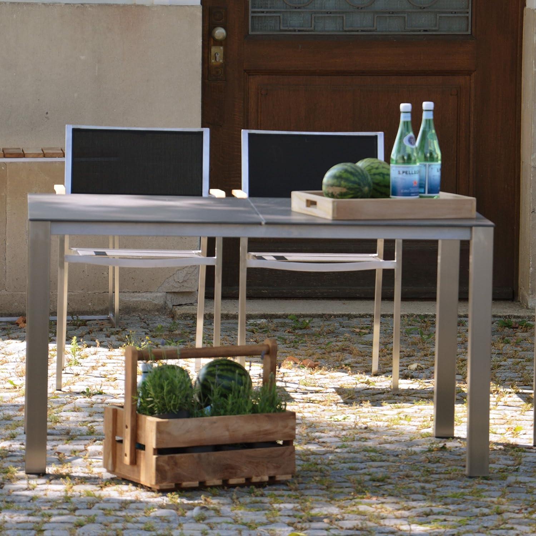 Lux Base Tisch Platte anthrazitschwarz 139 x 90 cm günstig bestellen