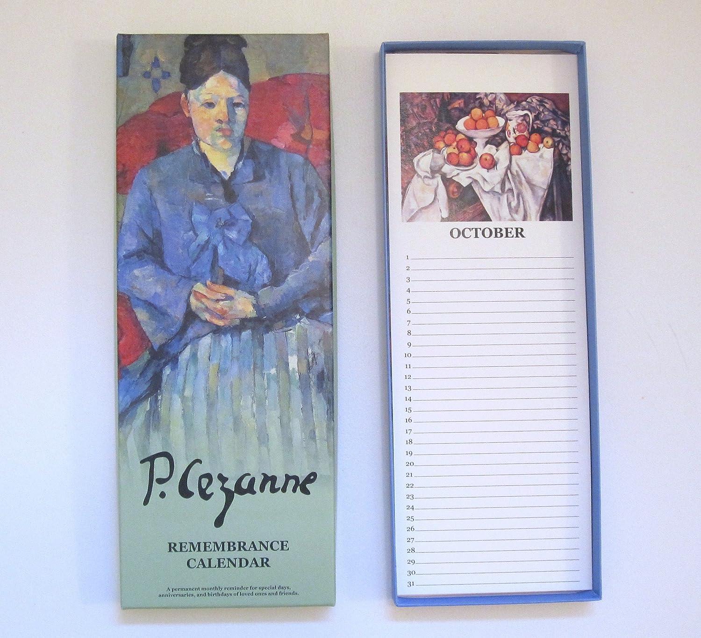 Nouvelles Images Cezanne - Remembrance Calendar (RCB 109) nouvelles sous ecstasy