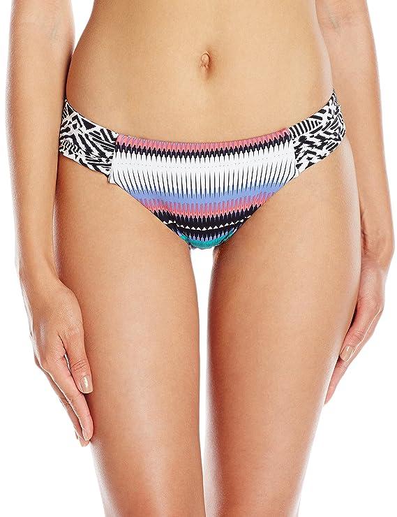 Roxy Women's Livin Free Basegirl Bikini Swimsuit Bottom