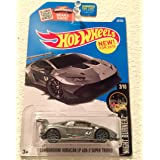 Hot Wheels 2016 Night Burnerz Lamborghini Huracan LP 620-2 Super Trofeo 82/250, Silver