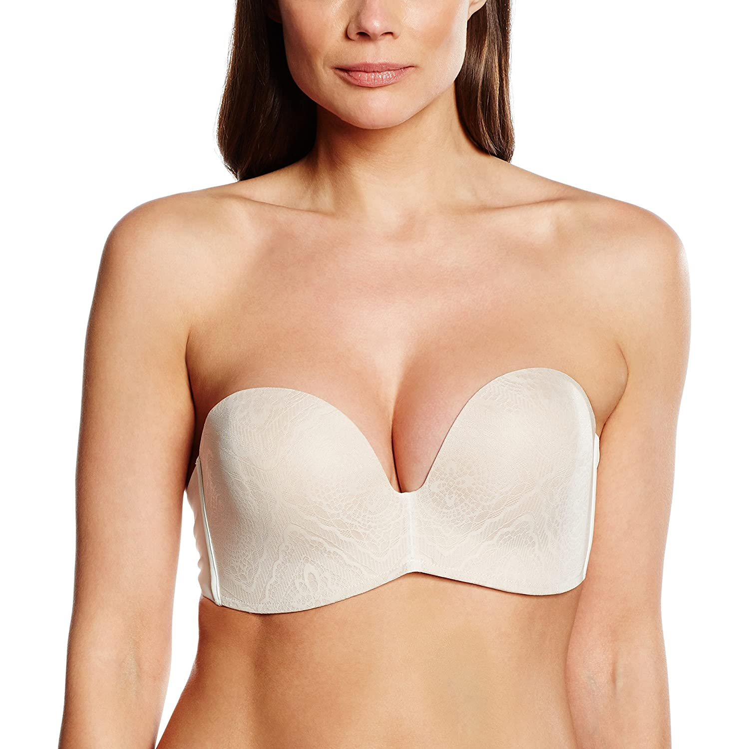 Wonderbra Damen BH Perfect Strapless Lace BH