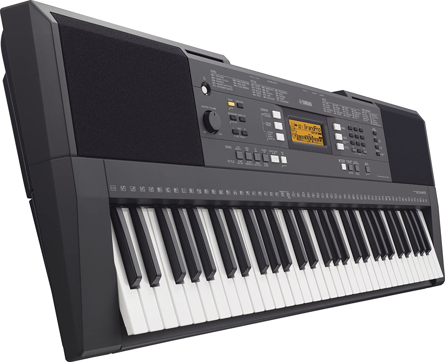Yamaha PSRE-343 61-Key Portable Keyboard