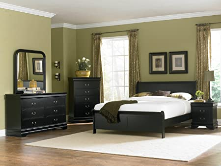 Marianne Bed King/Black