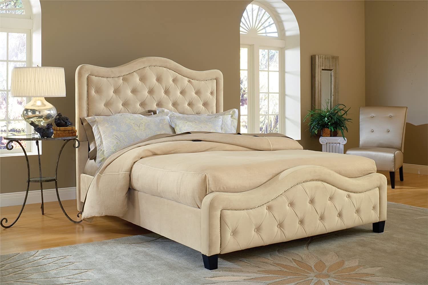 Hillsdale Trieste Fabric Bed w/ Fabric Side Rails at Sears.com