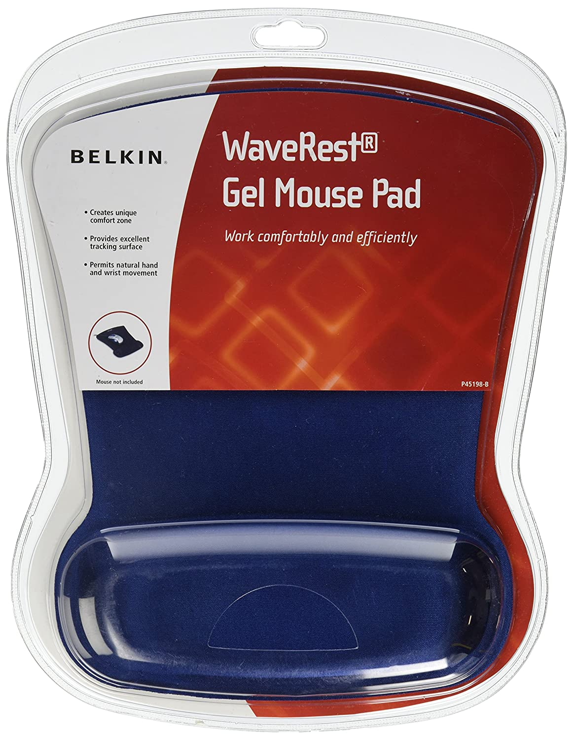 Belkin WaveRest Gel Mouse Pad (Blue)