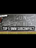 TFBTV: Top 5 Scientifically Best Sub-Compact 9mms