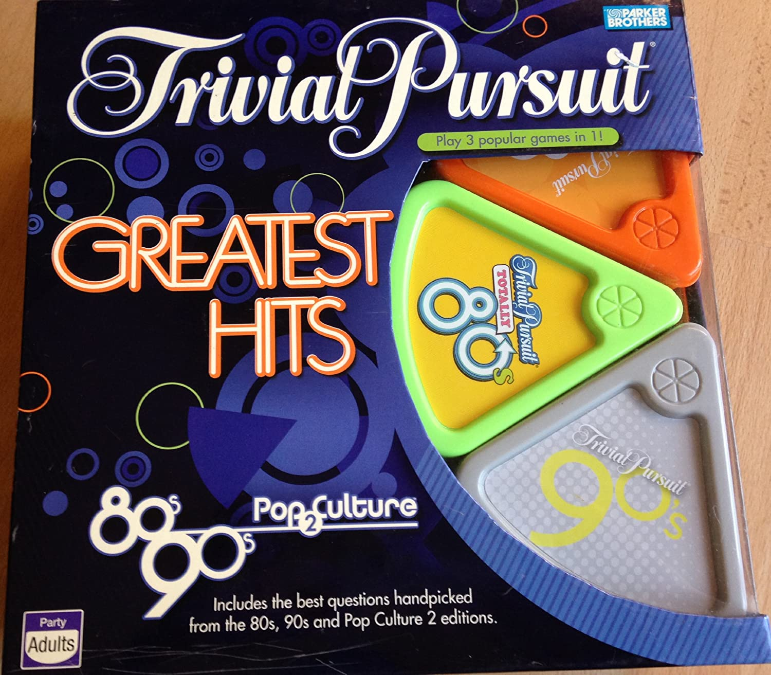 Trivial Pursuit – Greatest Hits (80's, 90's & Pop Culture) Trivia Board Game