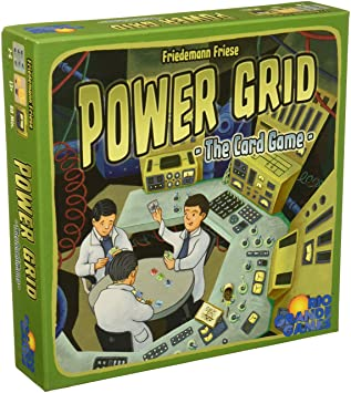 Rio Grande Games Rgg536 Power Grid le jeu de cartes