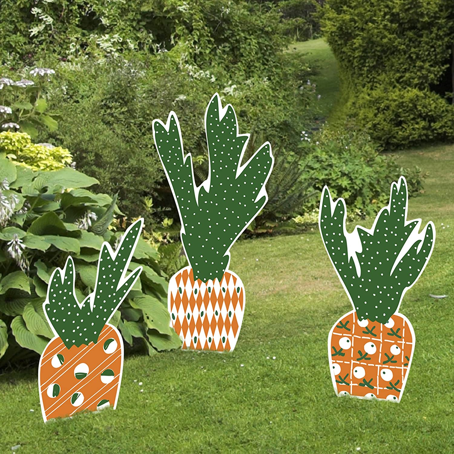 Outdoor easter decorations for Spring yard decorations