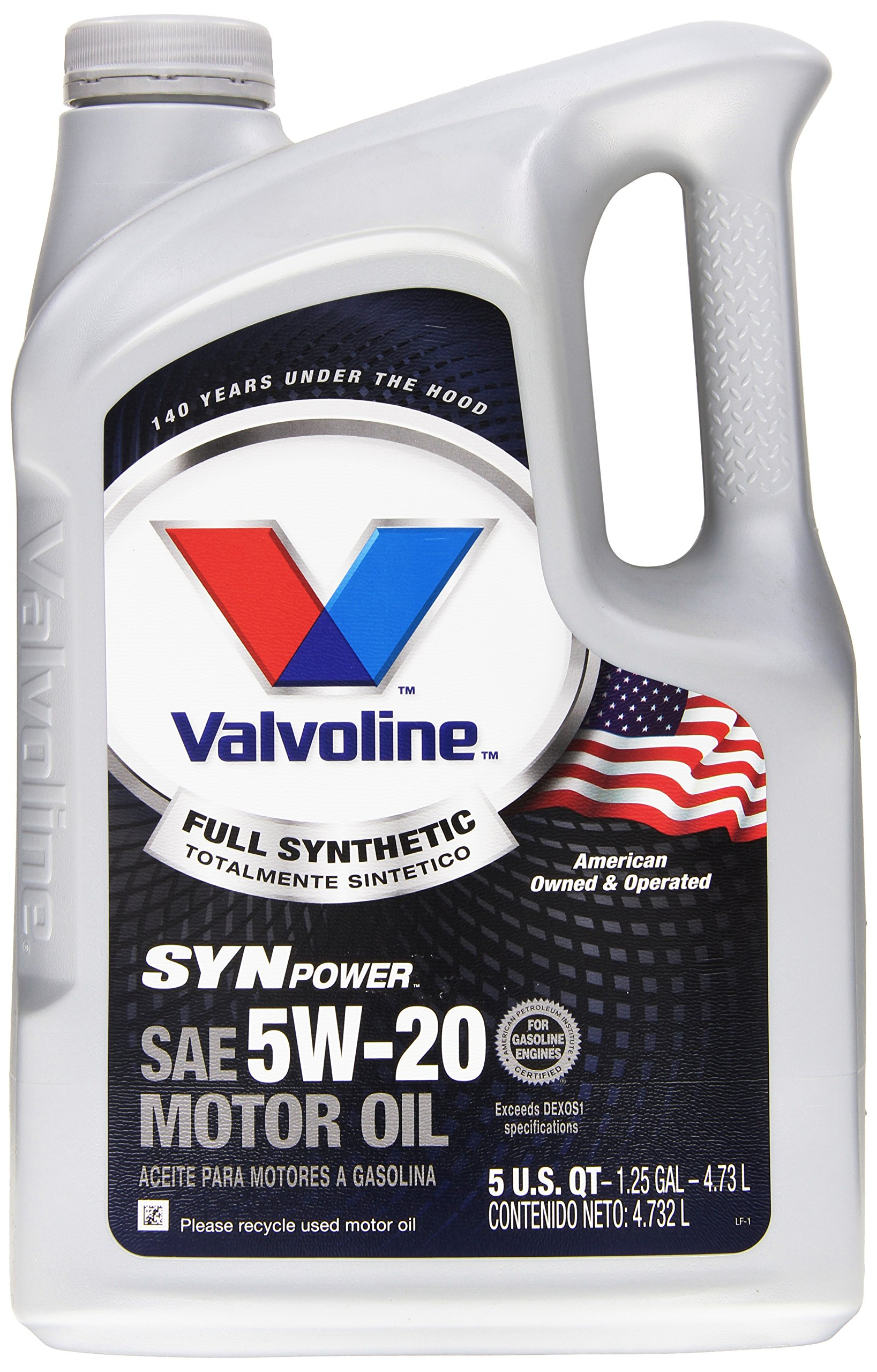 Valvoline 787023 synpower sae 5w 20 full synthetic motor for Synthetic motor oil test