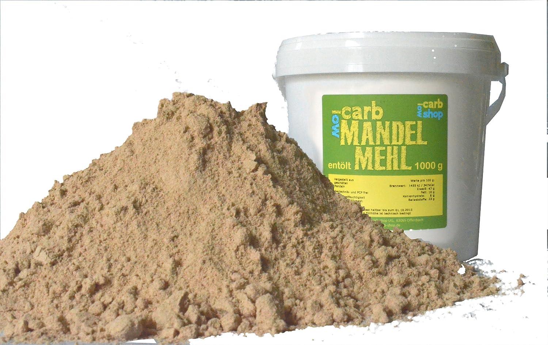Entöltes Mandelmehl