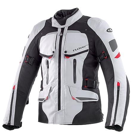 Clover 99170214_ 04Savana Veste moto, noir et blanc, taille L