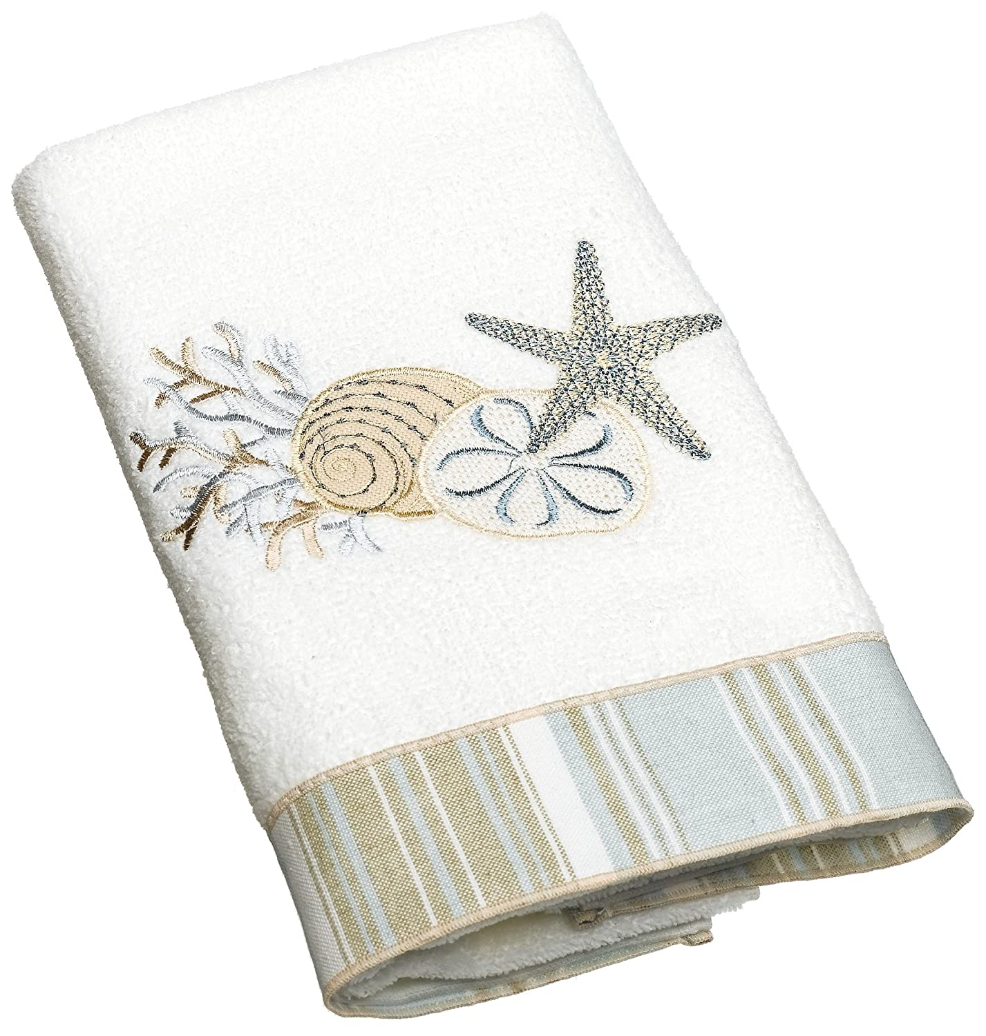 Avanti Decorative Towels Avanti Fingertip Towels In Ivory