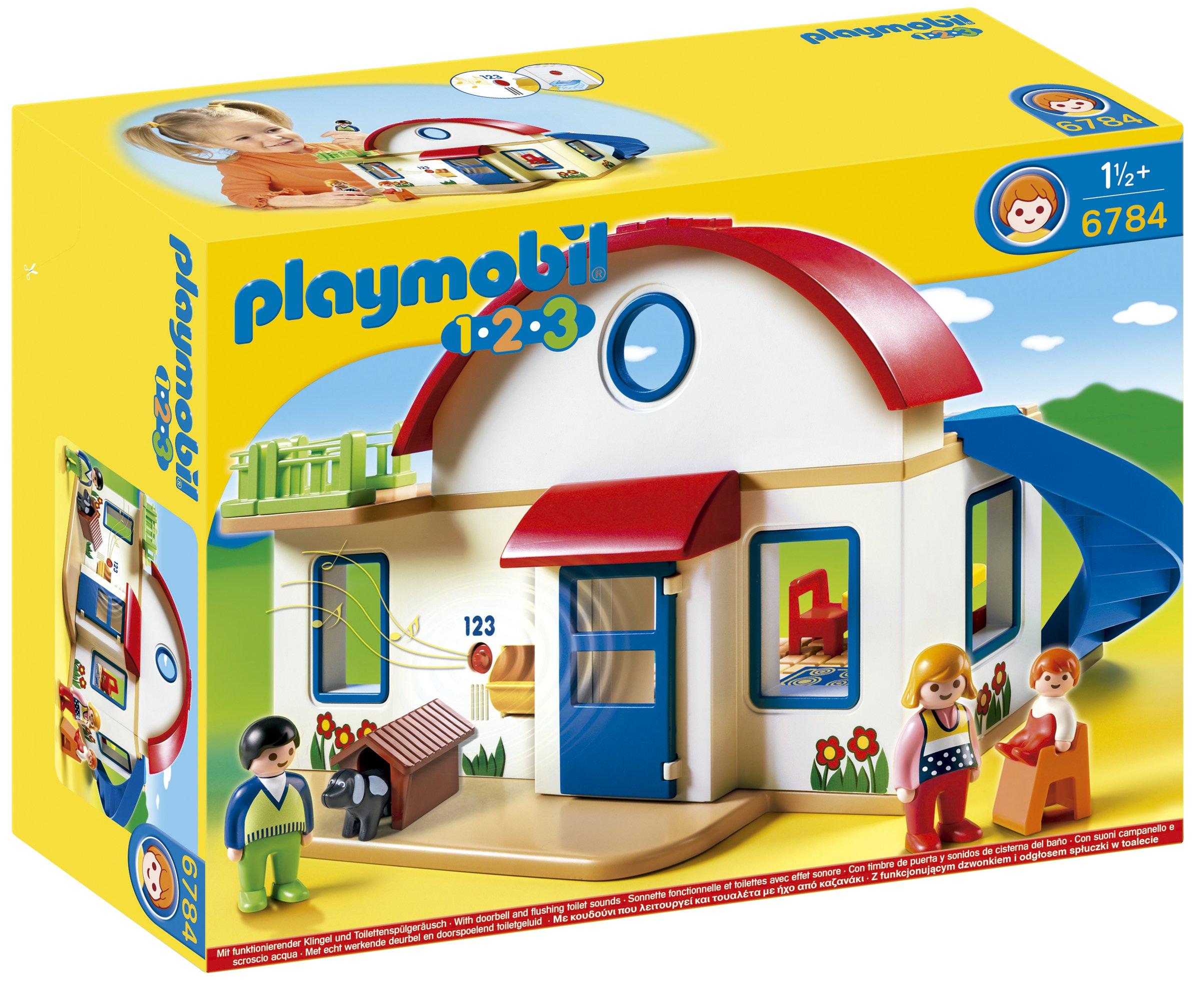 Playmobil 6784 Casetta 1 2 3 EBay #BFA70C 2400 1973 Sala Da Pranzo Radica Di Noce