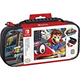 Nintendo Switch Super Mario Odyssey Carrying Case – Protective Deluxe Travel Case – PU Leather Exterior – Official Nintendo Licensed Product (Color: Multi - Mario Odyssey)