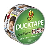 Duck Brand 283301 Austin Mahone Printed Duct Tape, 1.88 Inches x 10 Yards, Single Roll