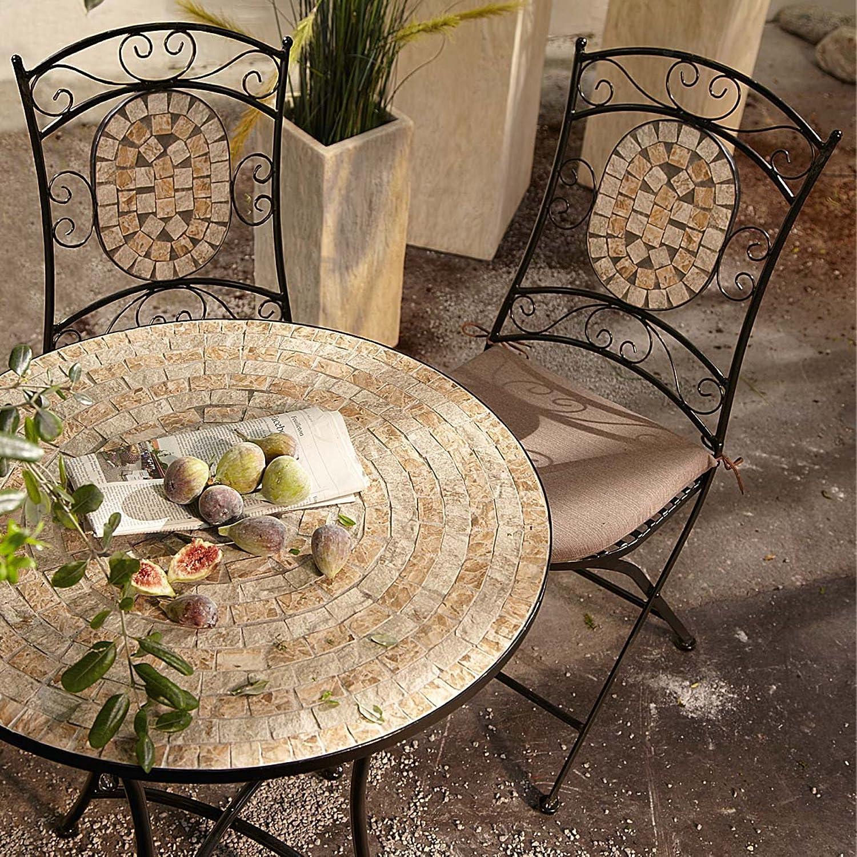 Gartenmöbel-Set aus Metall, 3-teilig online bestellen