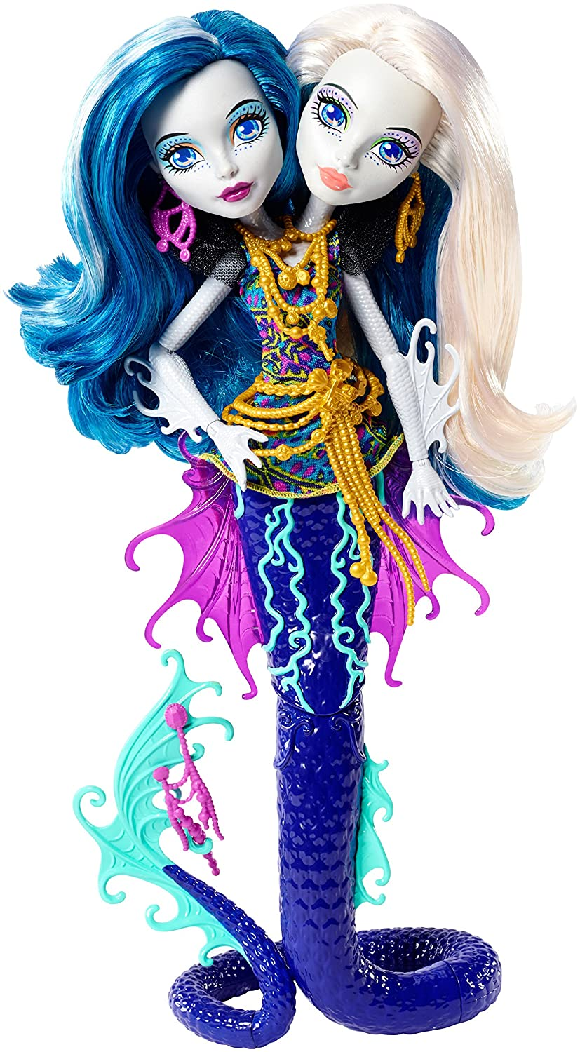 Monster High Great Scarrier Reef Peri and Pearl Serpintine Doll