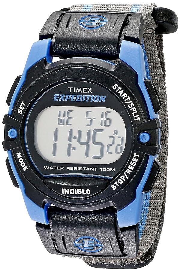 f47ca72637b4 Timex Expedition Digital Chrono Alarm Timer 33mm Watch (Color  Blue Black